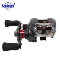 Wholesale Trulinoya Right Hand Baitcast Reel for Freshwater Fishing Ball Bearings Lure Fishing Gear Bait Casting Reel TS1200