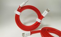 Wholesale hot season best sales red flat type c cable for oneplus