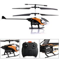 Wholesale Orange S126 CH IR Radio Remote Control RC Helicopter Gyro for Kid Gift