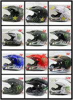 Wholesale new rockstar cascos capacete motorcycle helmet ATV Dirt bike downhill cross off road motocross helmets DOT S XL SIZE