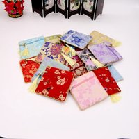 Wholesale Ladies Cheapest chinese elements Small Change Coin Purse hand embroidery Pouch Money Bag Mini Short Coin Holder Wallet In Stock