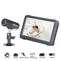 battery powered security camera system - 5 quot TFT Digital G Wireless Camera Audio Video Baby Monitor CH DVR Security System with IR Night Cam Motion Detect