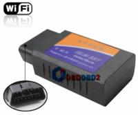 Wholesale Hardware V1 ELM327 WIFI ELM OBD2 OBDII Auto Diagnostic Scanner Tool ELM WiFi Code Reader Supports All OBD II Protocols