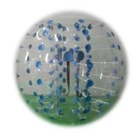 Wholesale Quality Bumper Balls Inflatable Bubble Sport Soccer Games Football TPU or PVC Diameter