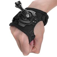Wholesale New Degree Rotation Protection Hand Wrist Strap Mount Screw for Gopro Hero SJ4000 Strip Belt For GoPro Accessories