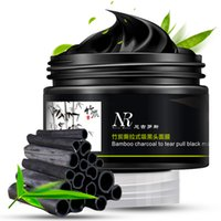 bamboo charcoal mask - Face Treatments Masks Face Care Bamboo Charcoal Facial Tear Pull Nose Blackhead Mask Gel Cleasing Remover Deep Cleansing Face Worldwide sale