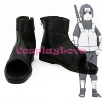 anbu black ops - Custom Made Japanese Anime Naruto Cosplay Black Ops Member Anbu Kakashi Cosplay Boots Shoes For Christmas Halloween