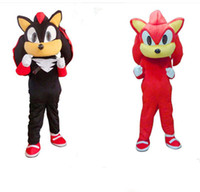 Wholesale Sonic Costume Adults - New Style Sonic Mascot Costume From the Hedgehog Costume Adult Size Sonic Cartoon Costume With Three Color Factory direct salre