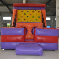 backyard sports - AOQI fashion design inflatable climbing sport adult inflatable obstacle course with inflatable climbing wall made in China