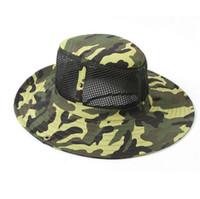 Super-sniper France-US Army camouflage HATS Bonnet à bord rond Bonnet James Super Light Bonnet à pêche sniper 65% polyester 35% coton Livraison gratuite