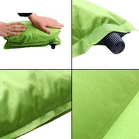 Wholesale Automatic Inflatable Air Cushion Pillow Portable Outdoor Travel Popular