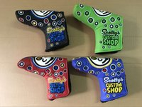 Wholesale 1PC NEW Golf Scotty Custom Shop Headcovers Clown Golf Clubs Putter Headcover colors