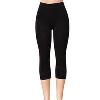absolute leg - MsLeg Ladies Solid Running Legging Nylon Material quot Length Women s Absolute Capri Leggings