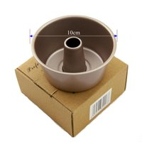 Wholesale Non Stick Inch Mini Angle Food Pan DIY Baking Pastry Tools Metal Cake Mold Hollow Baking Moulds