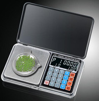 Wholesale by dhl fedex G g Digital scale in multifunction LCD Digital precision measure jewelry Scale calculators