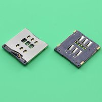 Wholesale Original New For iPhone S C SIM Card reader Tray Slot Holder