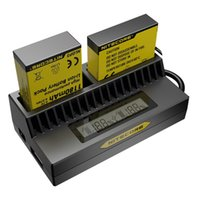 battery charger definition - NEW NITECORE lntelligent USB charger for GoPro HERO4 BATTERIES UGP4 HER03 High definition motion digital camera recorder battery charger