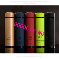 best thermos bottles - sports best quality green black blue elegant double deck stainless steel thermos cup drinkware watter bottle eco friend