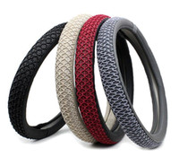 Wholesale Car Steering Wheel Cover The New Summer Cool Ice Silk Fashion Car Steering Wheel Cover CM