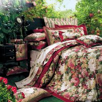 Wholesale Designer bedding bed set duvet quilt duvet cover queen king Size pillow covers cotton bed sheets
