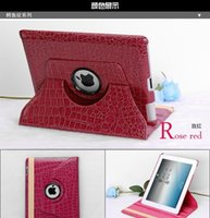 alligator skin ipad case - Alligator Pattern Tablet PC Case Degree Rotate PU Leather Case Protecotor For Ipad Mini2