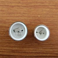 Wholesale 2015 Quartz Cannon Wax cartomizer atomizer with very nice shape single coil dual coils with