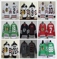 Wholesale Chicago Blackhawks jersey Stadium Series Ice Hockey jerseys Jonathan Toews Patrick Kane Duncan Keith Clark Griswold Hossa