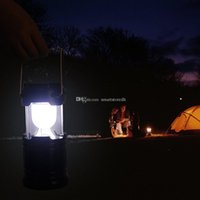 Wholesale Solar Camping Outdoor Portable CampingTent Camping Lamp Portable Emergency F00403 OST