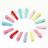 beautiful hairclips - 15Pcs Beautiful Alligator Barrette Hairclips Hair Clips Headwear Supply for Children Girls Lovely hair Clip