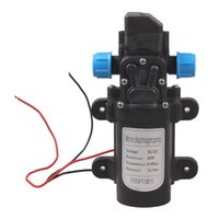 Wholesale DC V W Mini Micro Diaphragm High Pressure Water Pump Automatic Switch L min H210417