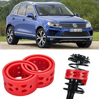 auto vw touareg - 2pcs Rear Car Auto Shock Absorber Power Cushion Buffer Special For VW Touareg
