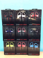 beat box - Used Beats powerbeats wireless Active collection headphone noise Cancel Headphones Bluetooth Headset Refurbished with seal retail box