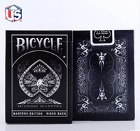 bicycle ellusionist cards - 100 ORIGINAL Bicycle Shadow Masters Deck Playing Cards Best Poker New Bicycle Playing Card Magic Card Ellusionist