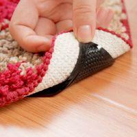 bathroom anti slip mat - Hot Rug Carpet Mat Grippers Non Slip Anti Skid Reusable Silicone Grip Pads New