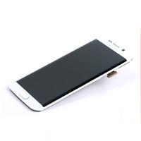 Pour Samsung S6 bord numériseur écran LCD avec orginal de haute qualité pour les pièces de rechange de remplacement de G9250