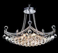 Wholesale 2016 HOTSALEChandeliers Lamp E14 Head Lighting AC110v v Indoor Lighting Chandeliers Fit Diningroom Livingroom Crystal lightings