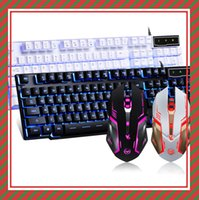 alien technology - ray technology ALIEN light keyboard suit cable game keyboard or mouse and keyboard set CF LOL Internet cafe suits
