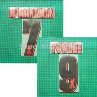 Wholesale Cazador Soccer patch insignia material de terciopelo de Cachemira McManaman