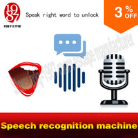 audio words - real life room escape game prop voice recognition machine speech a right word to unlcok with audio