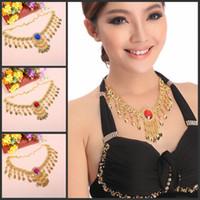 beauty belly dance - Chic Belly Dance Necklace Pendant Gypsy Beauty Headwear Headband Double Use