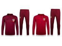 Men atletico madrid shirts - thai quality Atletico Madrid jacket Training suit kits soccer Jersey GRIEZMANN F TORRES KOKE SAUL CARRASCO Madrid football shirts