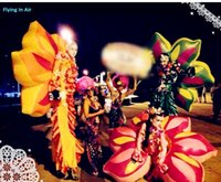 Wholesale 2m Tour Performance Inflatable Flower Costume for Tour and Stage