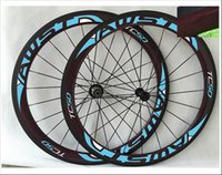Wholesale 700c mm Glossy Carbon Clincher Wheels h h for Road Bicycle mm mm wideth wheels