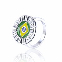 silver ring for women - Sports rings jewelry S925 sterling silver hot sale for women girl brand quality RIPY092H9