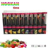 Cheap Disposable E Hookah 800 Puffs Electronic Cigarette Disposable e Cigarettes Beautiful Shisha Hookah Pen in stock DHL Free Shipping