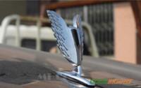 badges car vintage - High Quality Vintage Universal D Eagle Car Logo Front Cover Bonnet Metal Hood Sticker Badge Emblems Silver