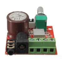 Wholesale cindya V Mini Hi Fi PAM8610 X10W Audio Stereo Amplifier Board Dual Channel board usb board shelf