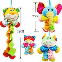 Wholesale 2016 Lovely Music Four Type Violin Folding Animal Play Toy Car Crib Bed Hanging Baby Toy