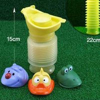 Wholesale Durable Hot Sale Portable Child Baby Boy Girl Leak proof Urinal Fast Shipping
