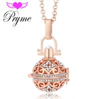 bell ball necklace - Pryme Accessories Angel Caller Ball Yiwu Jewelry mm Maternity Metal Copper Bell Bola Pendant Engelsrufer Women Necklace Jewelry L064